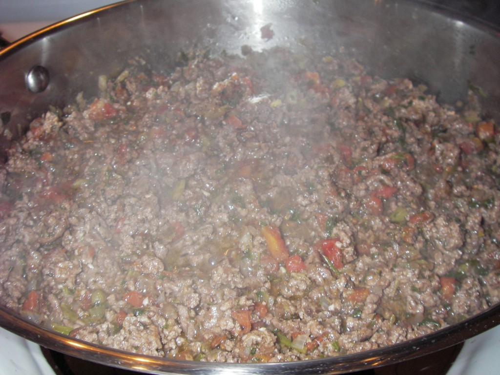 Meatsauce for Moussaka