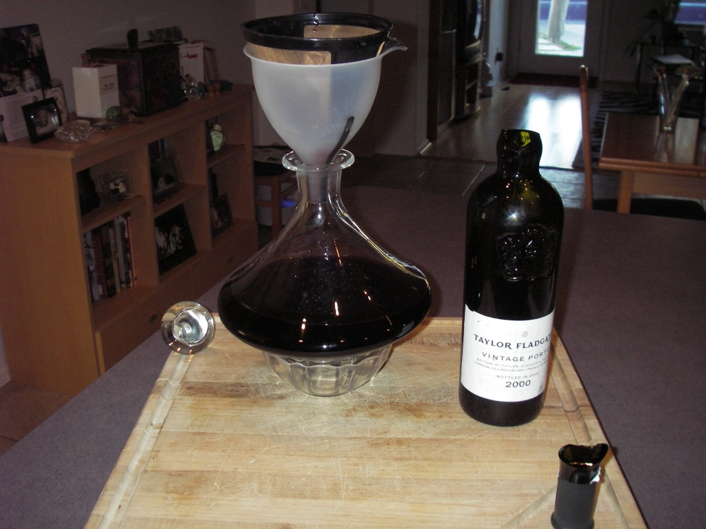 Decanting