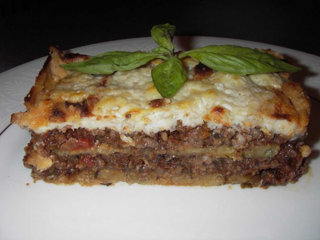 eggplant moussaka recipe