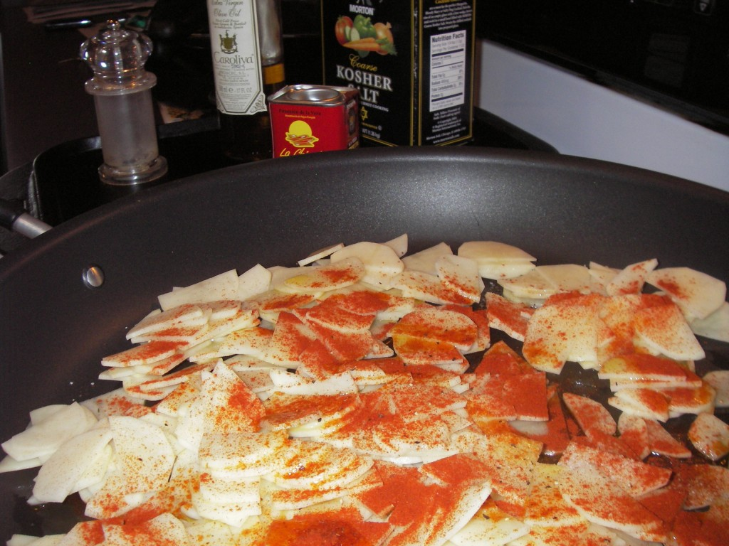 Spices for tortilla espanola recipe