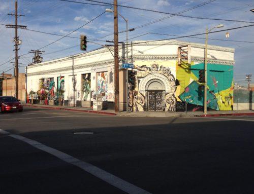 Los Angeles Street Art:  Mateo & 7th Street