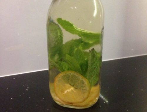 Infused Water: Orange, Lemongrass, Ginger