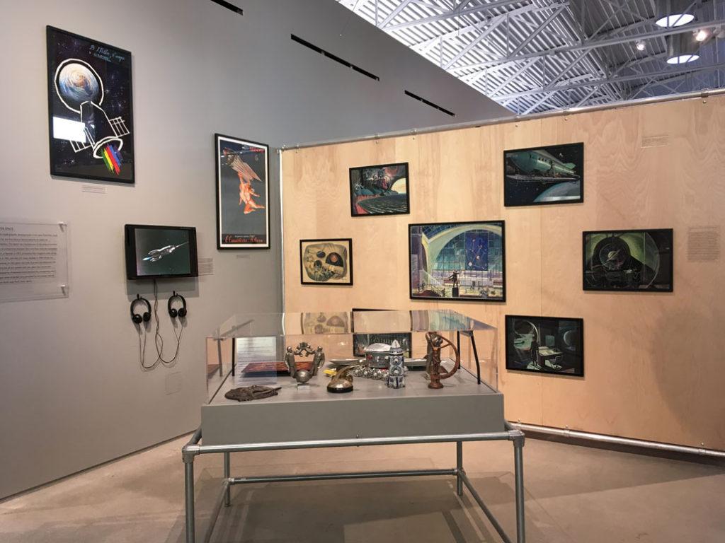 Wende Museum space exhibit