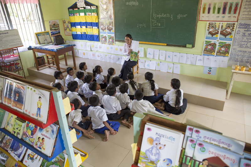 Room to Read partner school in Cambodia